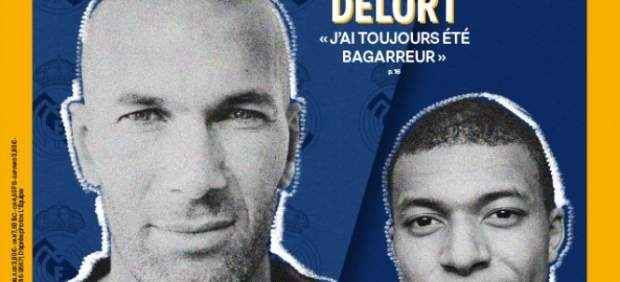 Zidane y Mbappé