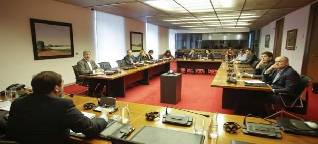 Comisión de investigación sobre Caja Navarra en el Parlamento foral