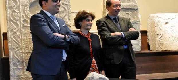 Descubren que el retrato romano del Museo de Navarra hallado en Santacara en 197