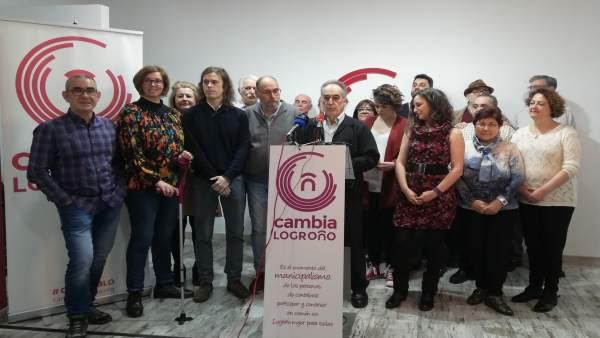 Isabel de María, candidata a Alcaldía por Cambia Logroño desde 'la mayor respons