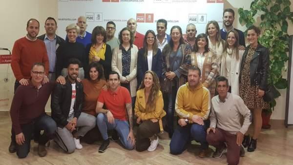 Huelva.- 26M.- El PSOE de Ayamonte presenta un equipo 'con las máximas garantías