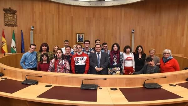 Granada.- La Diputación apuesta por la integración de las personas con discapaci