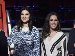 Malú y Laura Pausini juntas en 'La Voz'