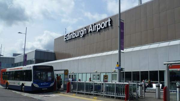 Aeropuerto de Edimburgo.