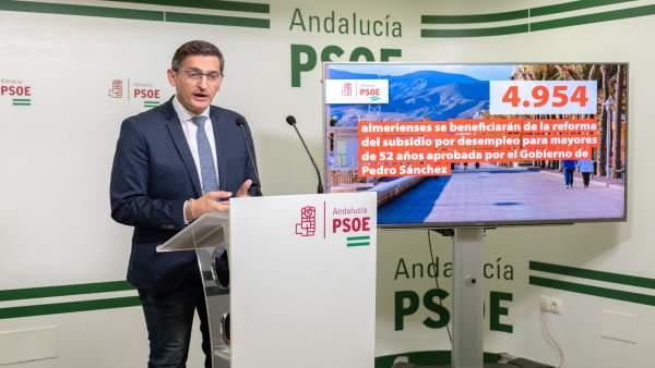 Almería.-28A.-PSOE destaca que 5.000 almerienses se beneficiarán de la recuperac