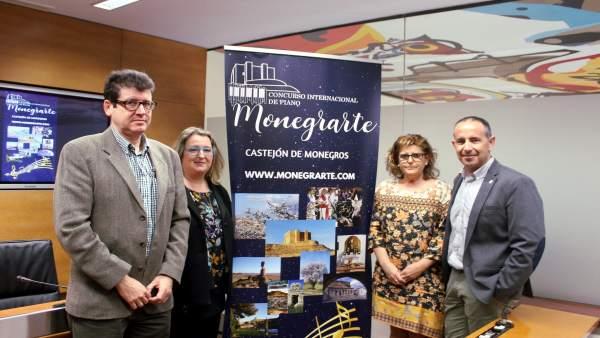 Castejón de Monegros organiza un concurso internacional de piano