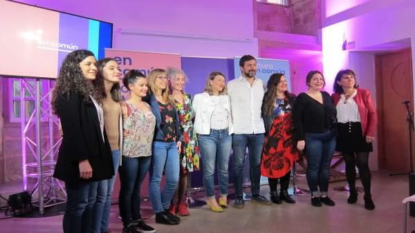 AV.-28A.-En Común-Unidas Podemos se presenta 'feminista, ecologista y pacifista'