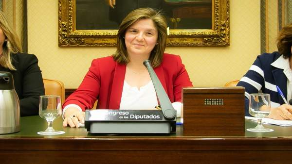 Pilar Cancela, en la comisión del pacto contra la violencia machista