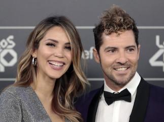 David Bisbal junto Rosanna Zanetti