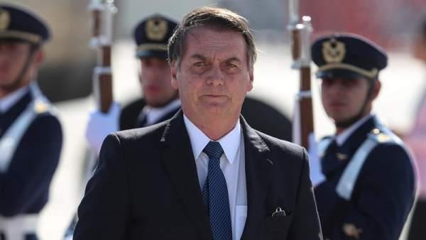 Jair Bolsonaro, en Chile
