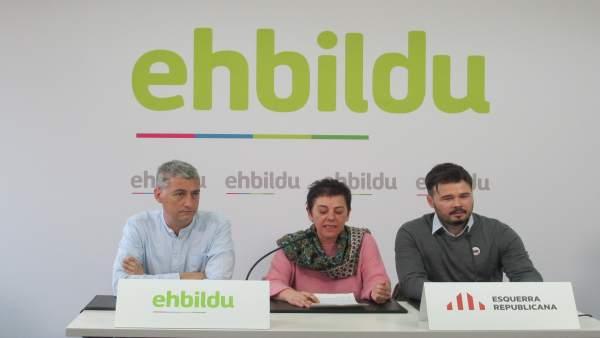 EH Bildu cree que en este momento histórico los independentistas de izquierda