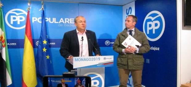 AV.- Monago dice que Vara es 'antinuclear' y que se ha 'asustado' cuando Campo A
