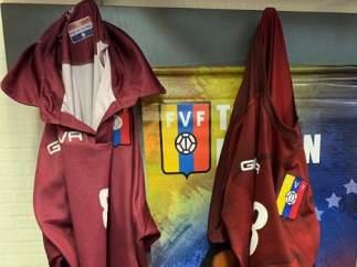 Camisetas falsas de Venezuela.