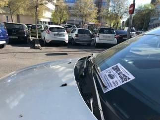Publicidad de 'compro-coche' en un vehículo.