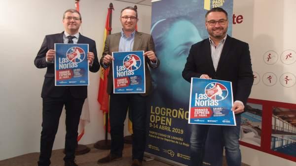 Logroño Deporte organiza el sábado 6 de abril el I Torneo Express Pádel, complem