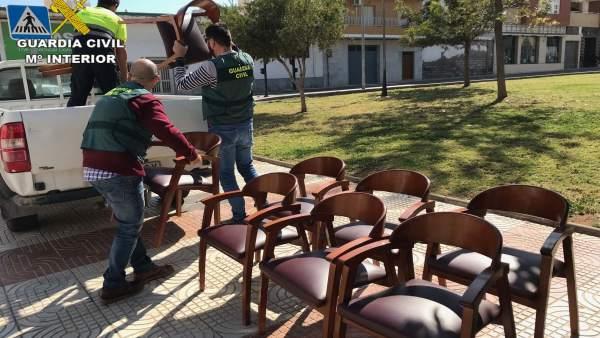 Almería.-Sucesos.-Detenido el presunto autor de cinco hurtos en establecimientos