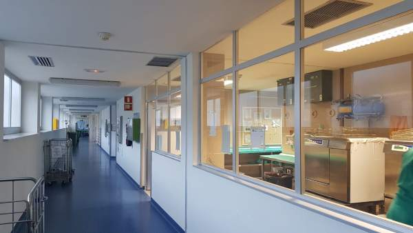 Área quirúrgica del Hospital Infanta Margarita