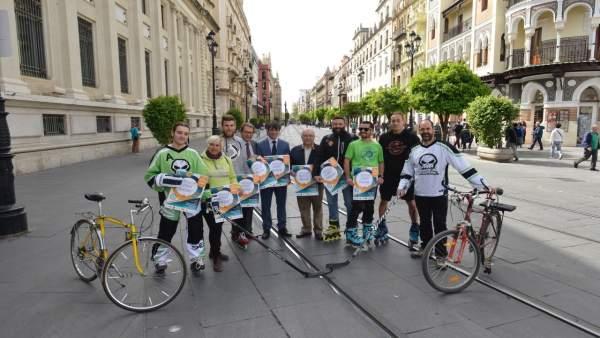 Sevilla.- Unas 4.000 personas en bici o patines participarán en la nueva edición