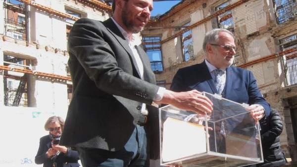 El edificio del 'histórico' Lucense de Valladolid, con las 20 viviendas ya vendi