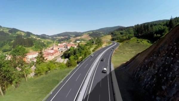 La nueva autovía de Deskarga se abrirá el próximo martes tras 25 meses de obras