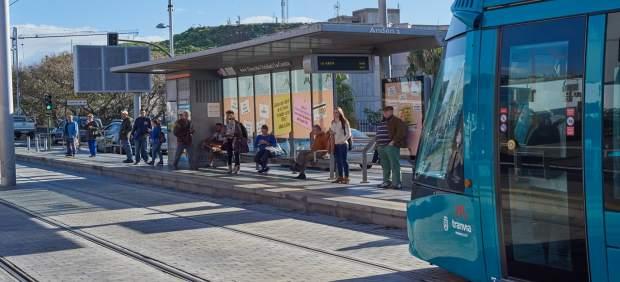 8M.- El tranvía de Tenerife decreta servicios mínimos con motivo del 8M