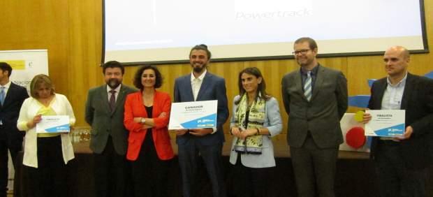 La empresa Powertrack, ganadora de los Premios Emprendedor XXI de Caixabank en E
