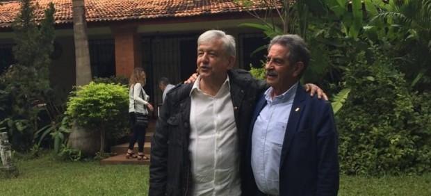 Miguel Ángel Revilla y López Obrador