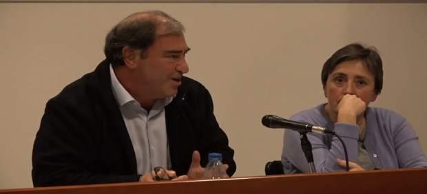 El fiscal Anticorrupción Juan Carrau, en una mesa redonda en la UIB