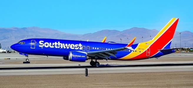Boeing 737 Max 8 de Southwest Airlines