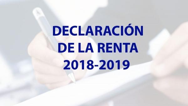 Resultado de imagen de Comienza la campaña de Renta y Patrimonio 2018