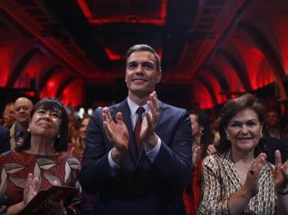 Pedro Sánchez, en la presentación de su programa electoral.