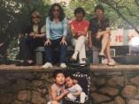 Sara y su amiga en China