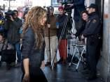 Shakira en el juicio