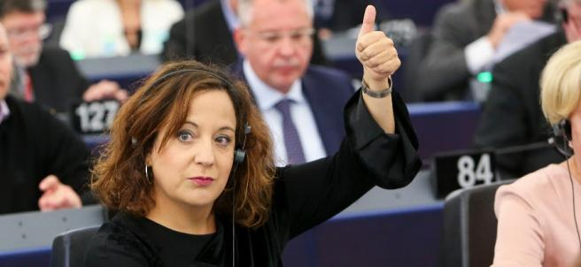 Iratxe García dice que la política de cohesión será 'por fin' un instrumento 'ef