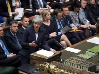 Defendiendo el 'brexit' en el Parlamento