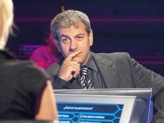 Carlos Sobera en '¿Quién quiere ser millonario?'
