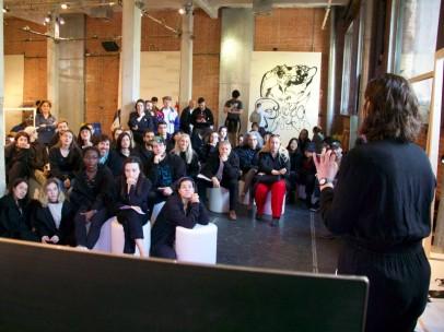 Una de las conferencias que se han impartido en el Matadero en el marco de Art Skills