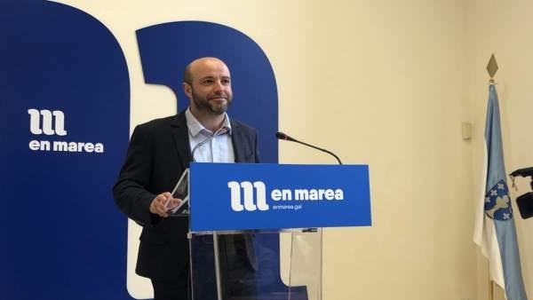 28A.- El portavoz de En Marea dice que el partido está 'más cohesionado que nunc