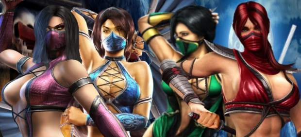Las chicas de 'Mortal Kombat'