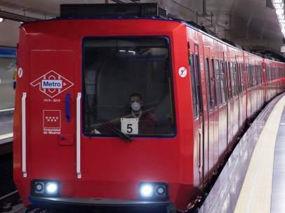 Metro de Madrid identificó hace unos días amianto en pequeña pieza de un compresor.