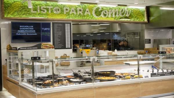 Zaragoza.- Mercadona inaugura su nuevo modelo de tienda eficiente en la zona Exp