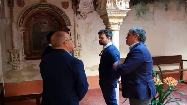 Sevilla.- 28A.- Cambronero (Cs) propone hacer la colegiata de Osuna el 'principa
