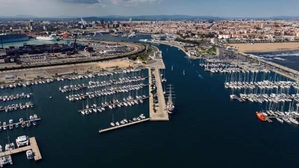 València vista desde la Marina