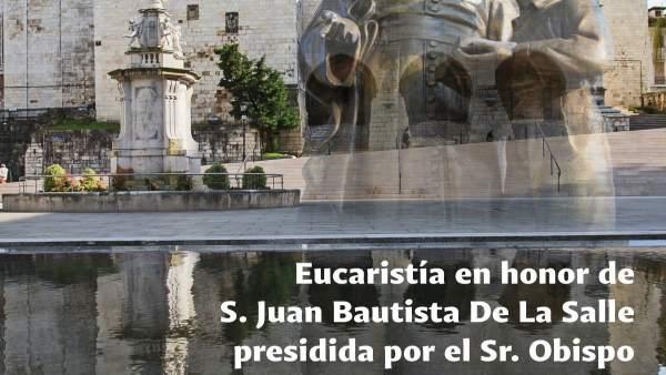 La Salle celebra el tricentenario de la muerte de su fundador con una eucaristía