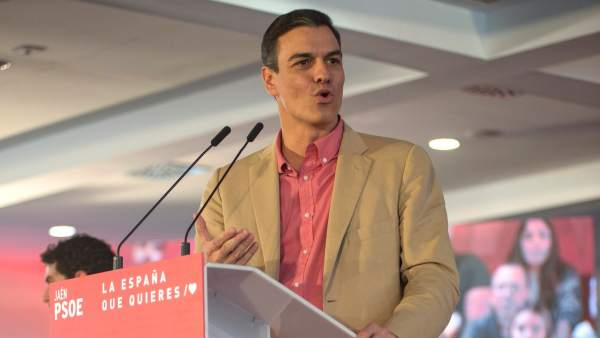 Pedro Sánchez, en Jaén