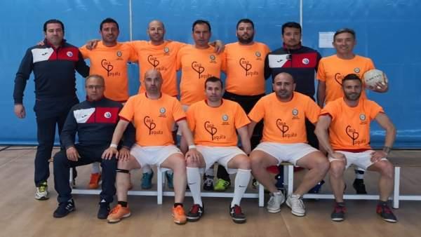 Almería.- Puertos.- El equipo de fútbol sala del Puerto gana su décimo título de