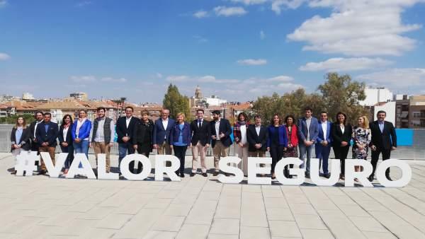 28A.- Teodoro García: 'Si Queremos Que La Región Se Escuche En Madrid, Casado Ti