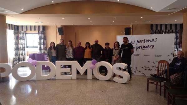 Pablo Fernández asegura que Podemos representa 'la opción de cambio y progreso'