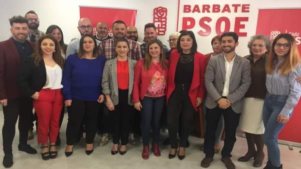 Cádiz.- 26M.- Socialistas acompañan este sábado a la candidata a la Alcaldía de