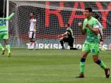 Gol del Betis en Vallecas